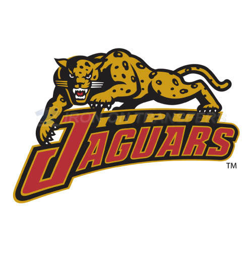 IUPUI Jaguars Iron-on Stickers (Heat Transfers)NO.4679